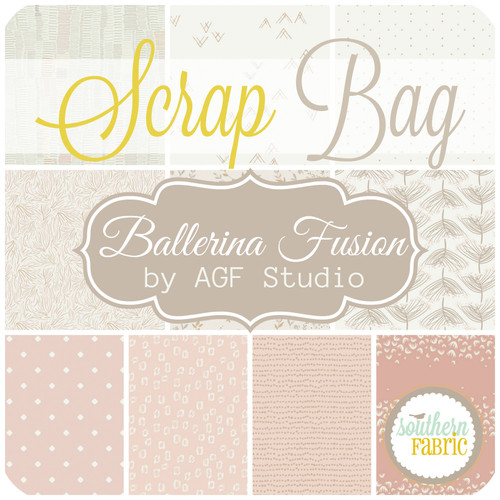 Ballerina Fusion Scrap Bag (approx 2 yards) by Agf Studio for Art Gallery (AG.BF.SB)
