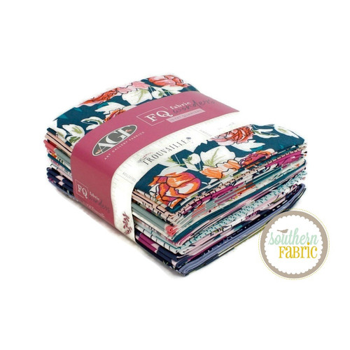 Trouvaille Fat Quarter Bundle (16 pcs) by Agf Studio for Art Gallery (FQW-TRV)