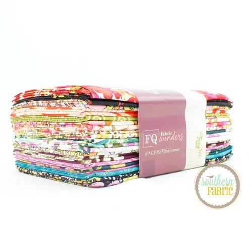 365 Fifth Avenue Fat Quarter Bundle (16 pcs) by Bari J. for Art Gallery (FQW-FAV)