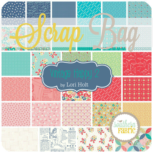Vintage Happy 2 Scrap Bag (approx 2 yards) by Lori Holt for Riley Blake (LH.VH2.SB)