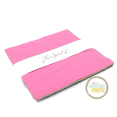 Designer Essentials Layer Cake (42 pcs) by Tula Pink for Free Spirit (FB610TP.SOLID)