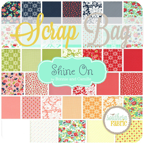 Shine On Scrap Bag (approx 2 yards) by Bonnie and Camille for Moda (BC.SH.SB)