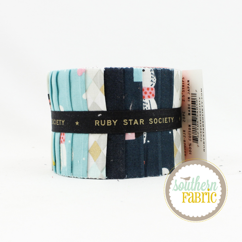 Flurry Junior Jelly Roll (20 pcs) by Ruby Star Society for Moda (RS5028JJR)