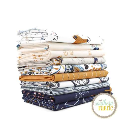 Little Forester - Fusion Fat Quarter Bundle (10 pcs) by AGF Studio for Art Gallery (AG.LFF.FQ)