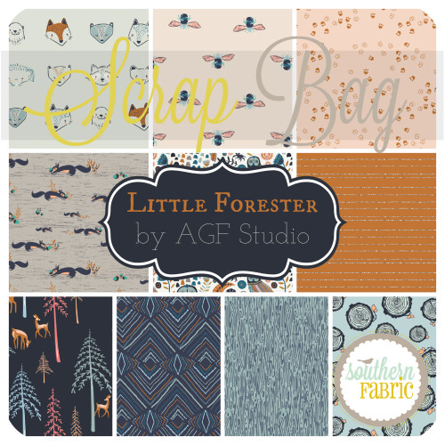 Little Forester - Fusion Scrap Bag (approx 2 yards) by AGF Studio for Art Gallery (AG.LFF.SB)