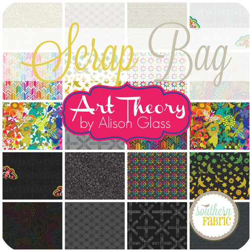 Art Theory Scrap Bag (approx 2 yards) by Alison Glass for Andover (AG.AT.SB)
