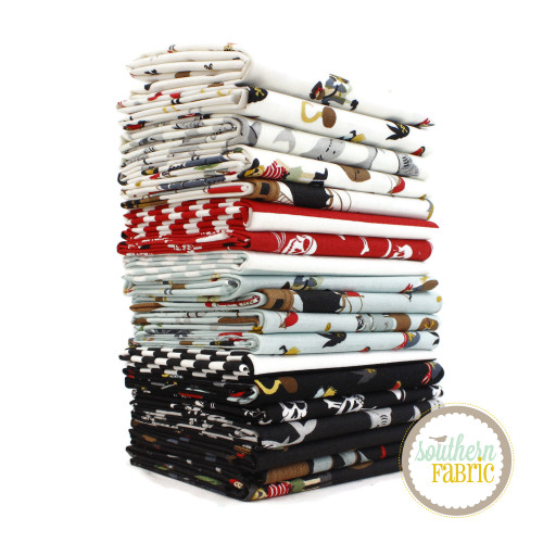 Pirate Tales Fat Eighth Bundle (18 pcs) by Echo Park Paper Co. for Riley Blake (EPP.PL.F8)