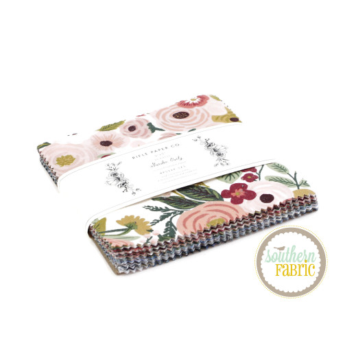 Garden Party Charm Pack (42 pcs) by Rifle Paper Co. for Cotton and Steel (RP522P-5X5)