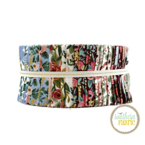 Garden Party Jelly Roll (40 pcs) by Rifle Paper Co. for Cotton and Steel (RP522P-2.5S)
