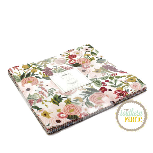Garden Party Layer Cake (42 pcs) by Rifle Paper Co. for Cotton and Steel (RP522P-10X10)