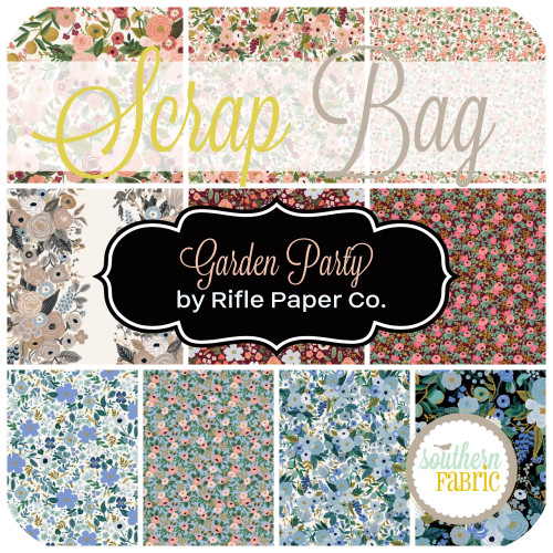Garden Party Scrap Bag (approx 2 yards) by Rifle Paper Co. for Cotton and Steel (RPC.GP.SB)