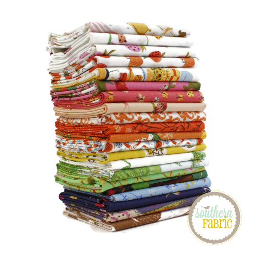 Heather Ross 20th Anniversary Fat Eighth Bundle (21 pcs) by Heather Ross for Windham Fabrics (HR.HRAN.F8)