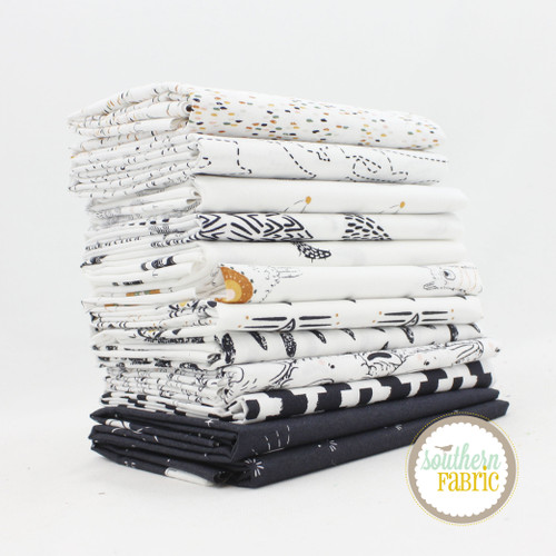 Capsules - Pacha Fat Quarter Bundle (12 pcs) by AGF Studio for Art Gallery (AG.CA.PA.FQ)