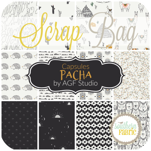 Capsules - Pacha Scrap Bag (approx 2 yards) by AGF Studio for Art Gallery (AG.CA.PA.SB)