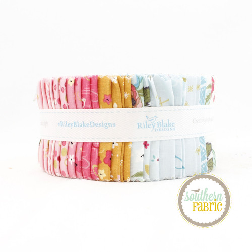 Stardust Jelly Roll (40 pcs) by Beverly McCullough for Riley Blake (RP-10500-40)