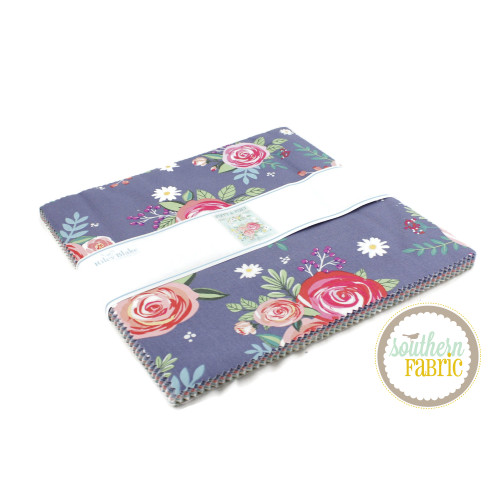 Poppy and Posey Layer Cake (42 pcs) by Dodi Lee Poulsen for Riley Blake (10-10580-42)