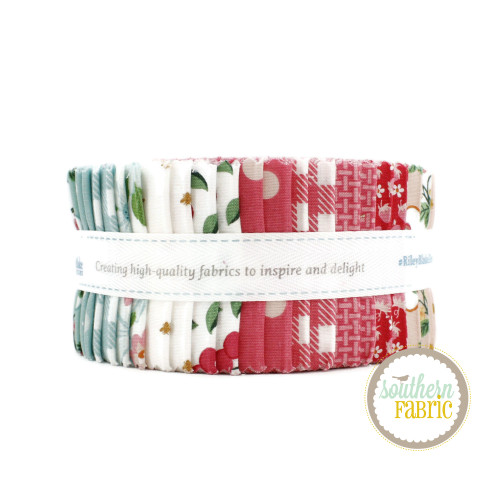 Summer Picnic Jelly Roll (40 pcs) by Melissa Mortenson for Riley Blake (RP-10750-40)