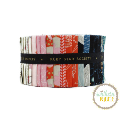 Purl Jelly Roll (40 pcs) by Sarah Watts for Ruby Star Society + Moda (RS2029JR)