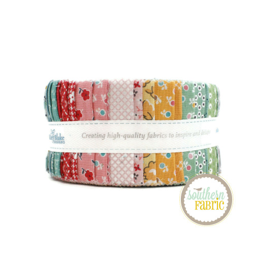 Stitch Jelly Roll (40 pcs) by Lori Holt for Riley Blake (RP-10920-40)