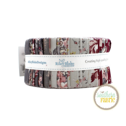 Exquisite Jelly Roll (40 pcs) by Gerri Robinson for Riley Blake (RP-10700-40)