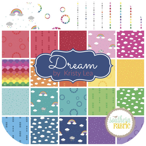 Dream Jelly Roll (40 pcs) by Kristy Lea for Riley Blake (RP-10770-40)