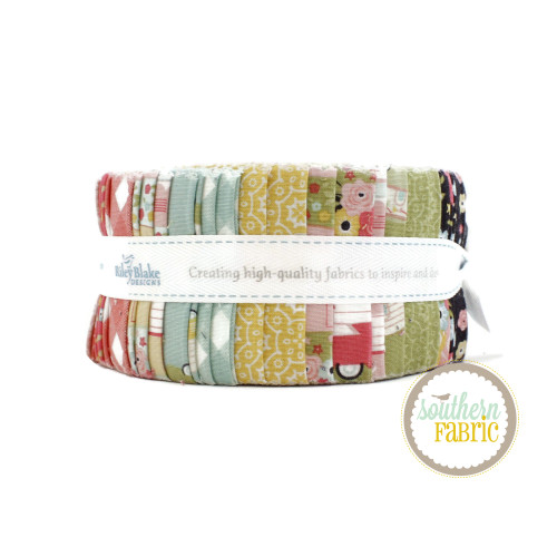 Joy in the Journey Jelly Roll (40 pcs) by Dani Mogstad for Riley Blake (RP-10680-40)