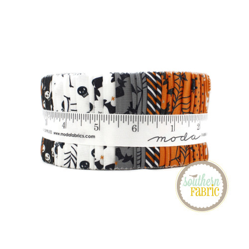 Holiday Halloween Jelly Roll (40 pcs) by Stacy Iest Hsu for Moda (20730JR)