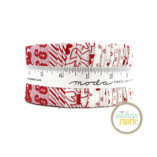 Holiday Love Jelly Roll (40 pcs) by Stacy Iest Hsu for Moda (20750JR)