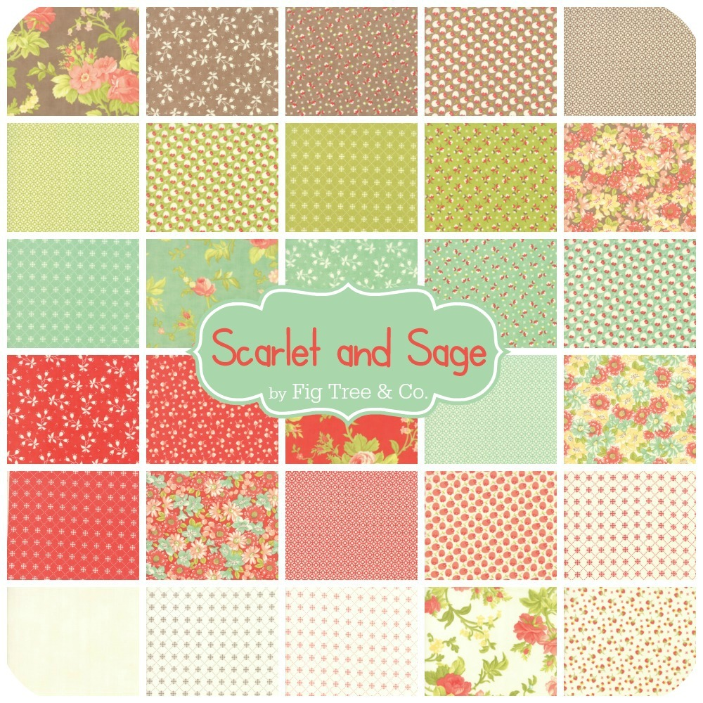 Scarlet and Sage by Fig Tree and Co