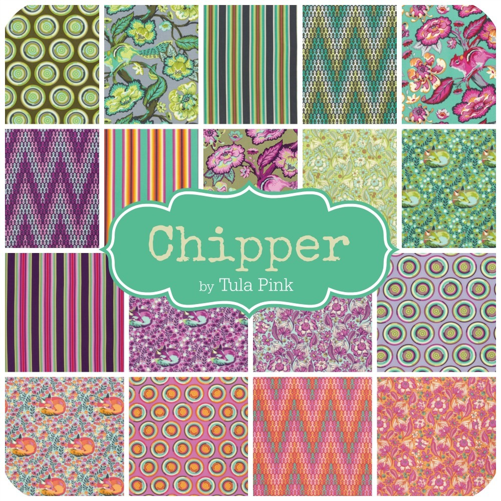 Chipper Fabric by Tula Pink