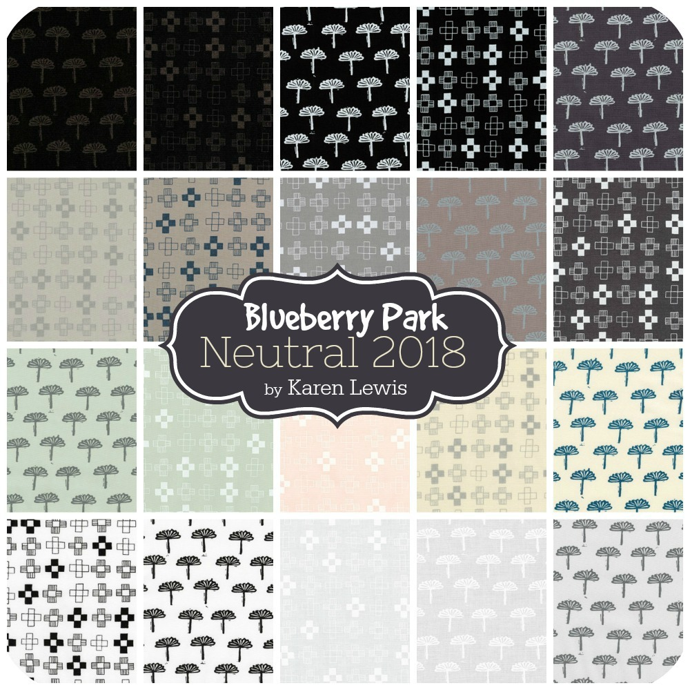 Blueberry Park Neutral 2018 by Karen Lewis