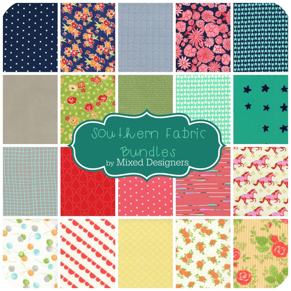 Southern Fabric Bundles by Mixed Designers