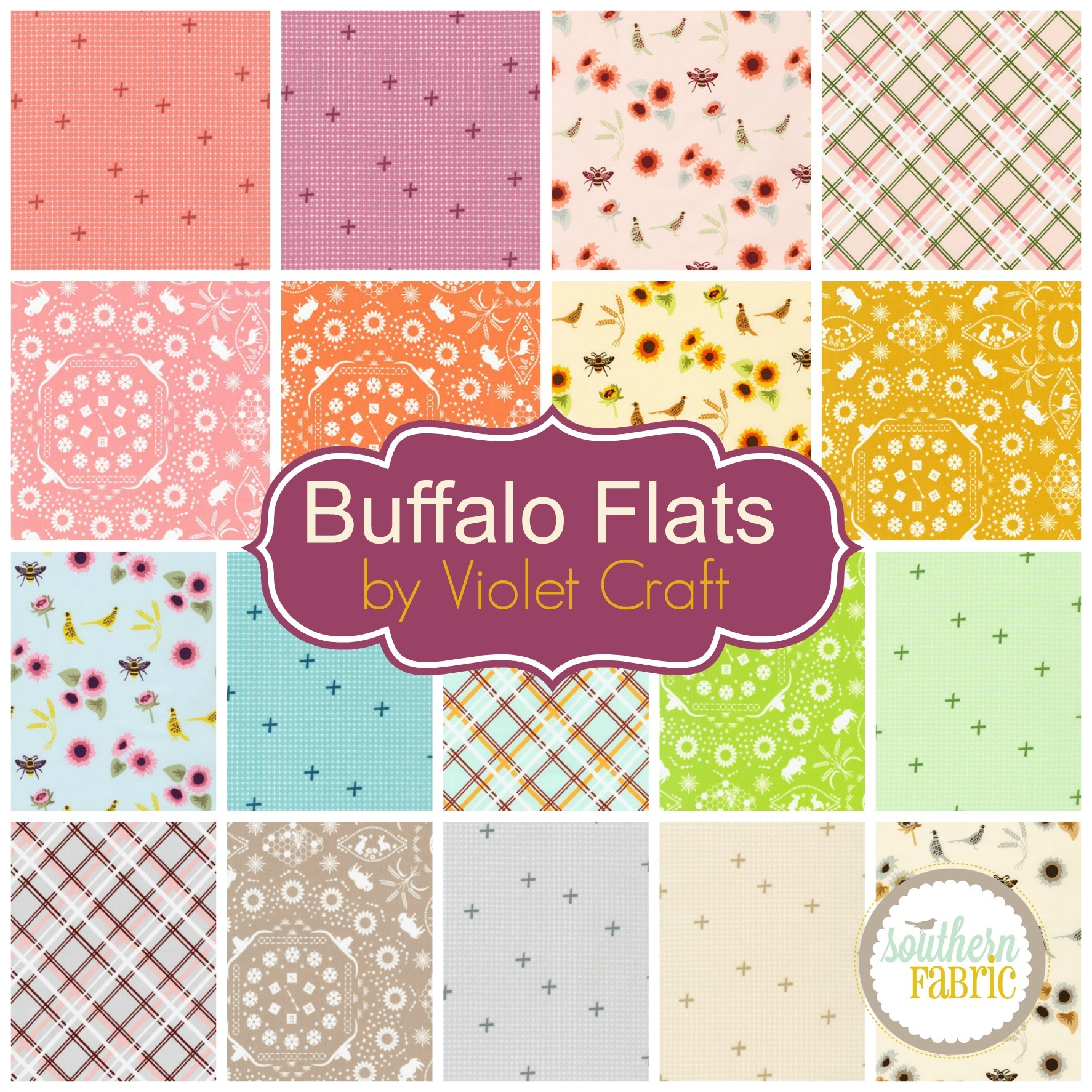 Buffalo Flats by Violet Craft