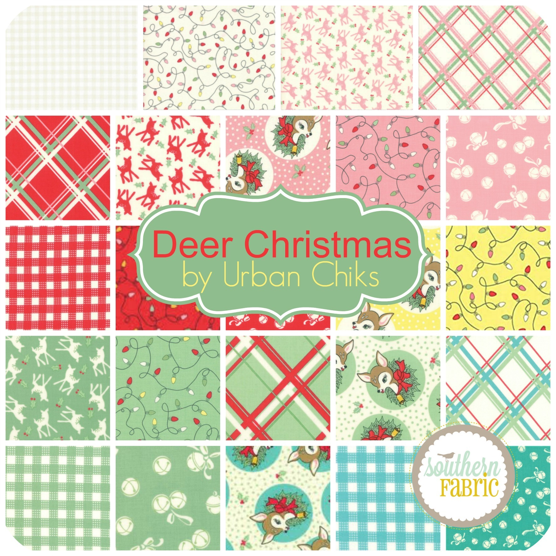 Deer Christmas by Urban Chiks