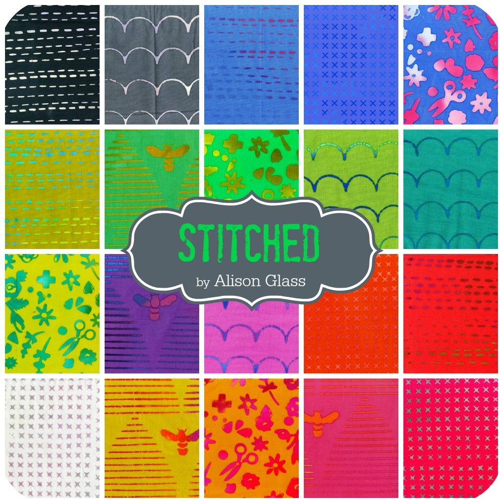 Stitched by Alison Glass