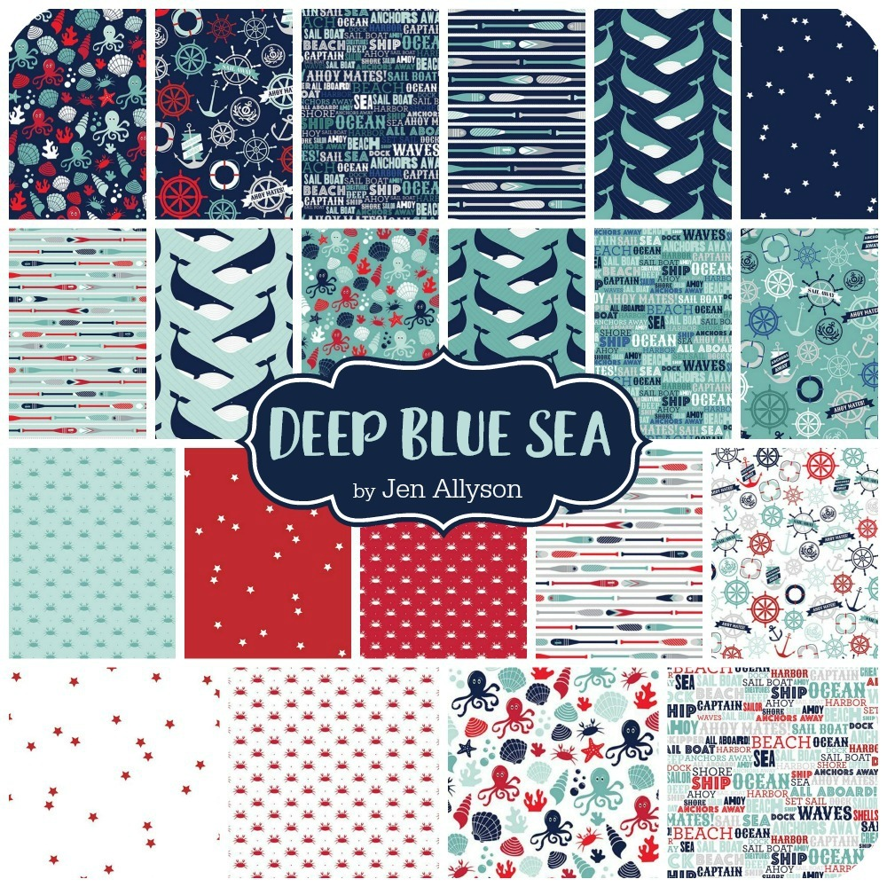 Deep Blue Sea by Jen Allyson
