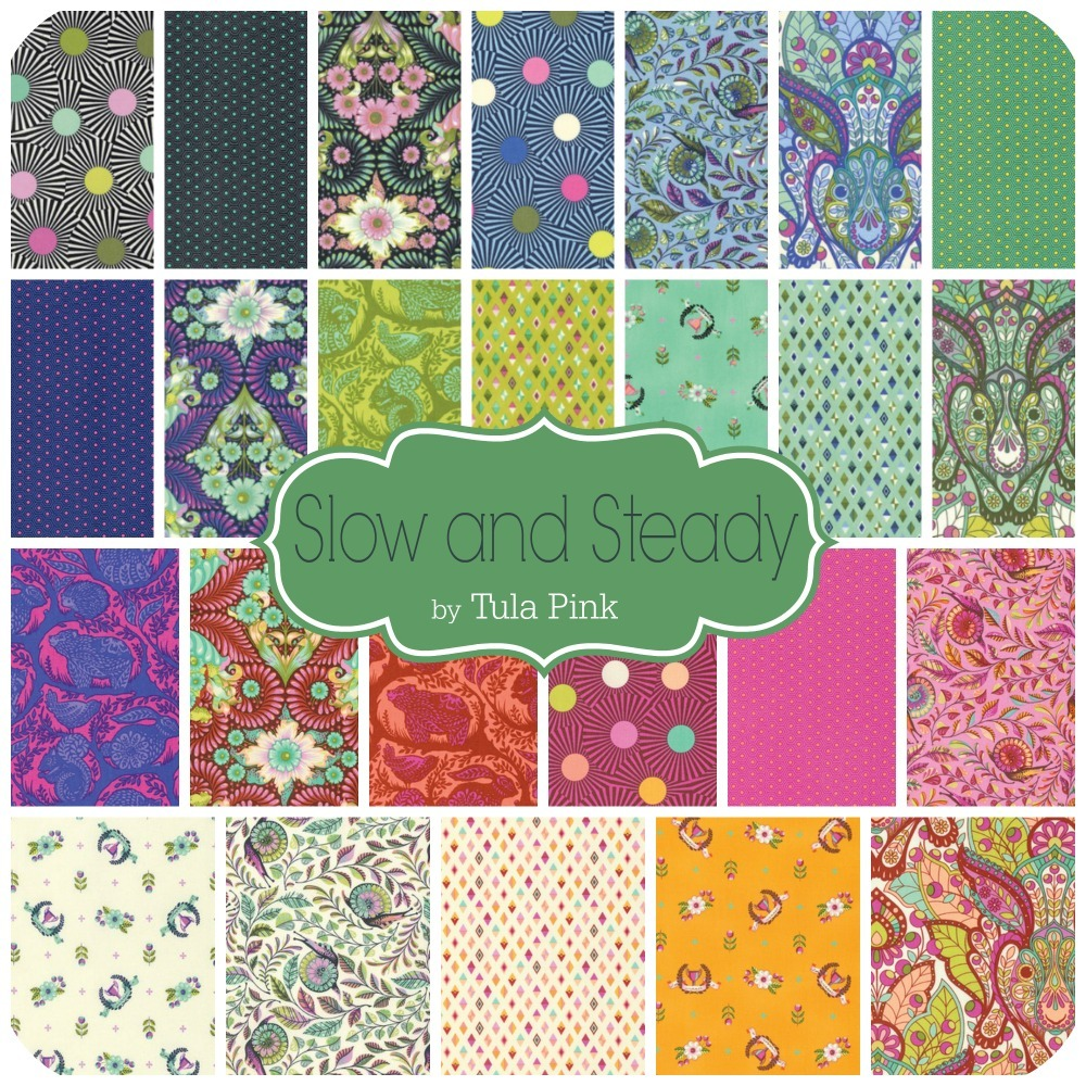 Slow and Steady by Tula Pink