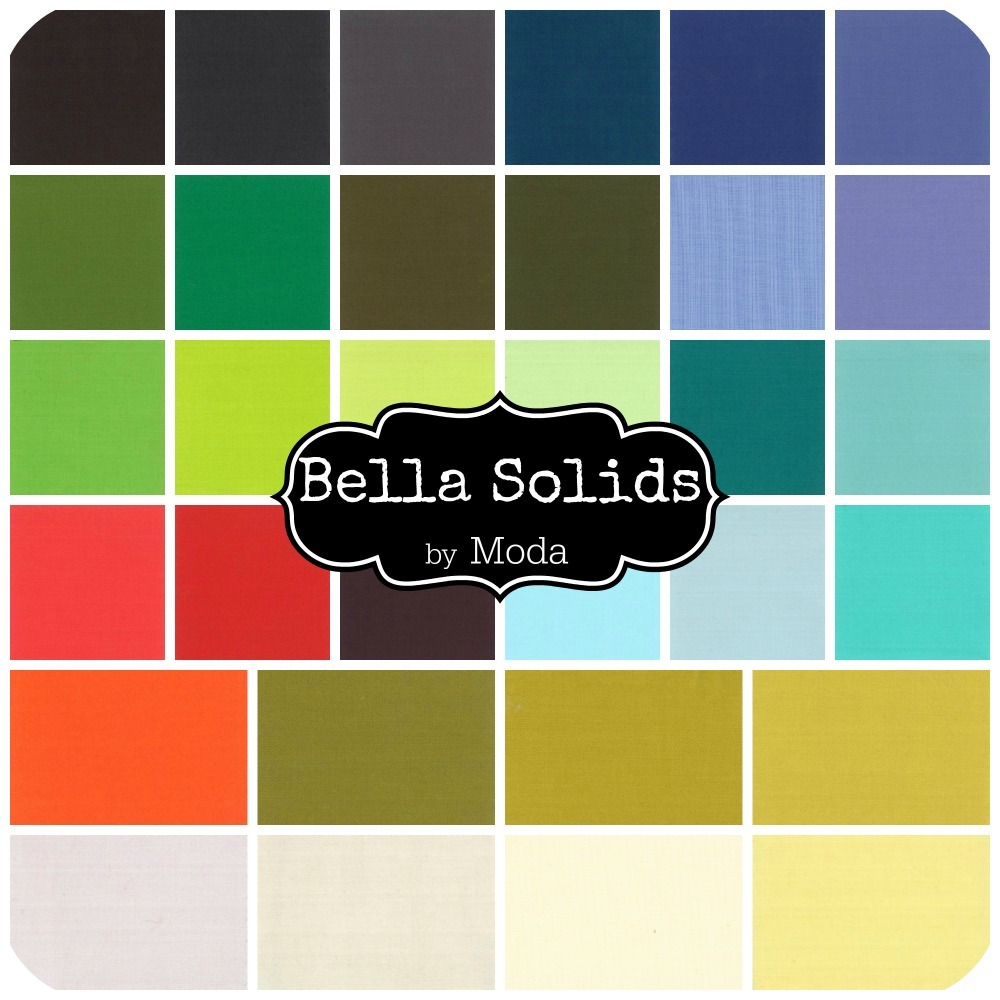 Bella Solids by Moda House Designer
