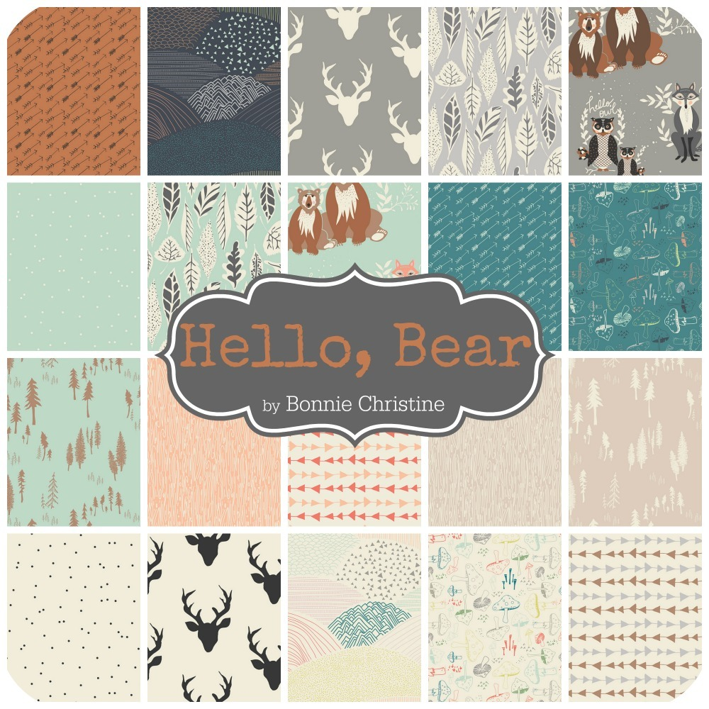 Hello Bear by Bonnie Christine