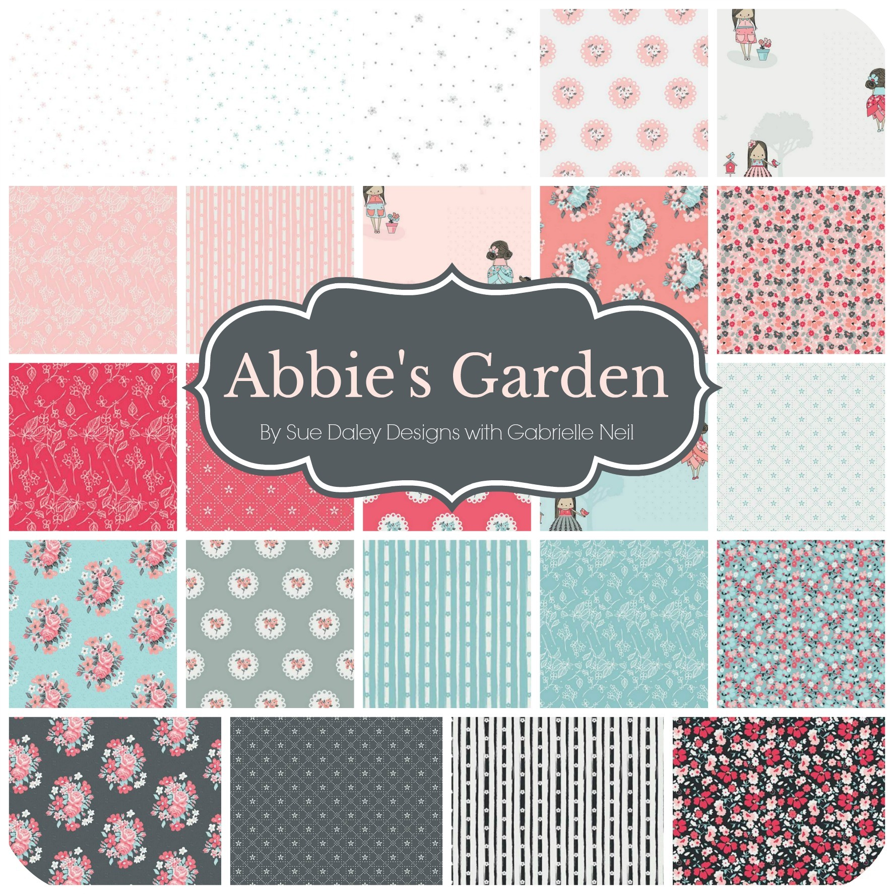 Abbie's Garden by Sue Daley Designs