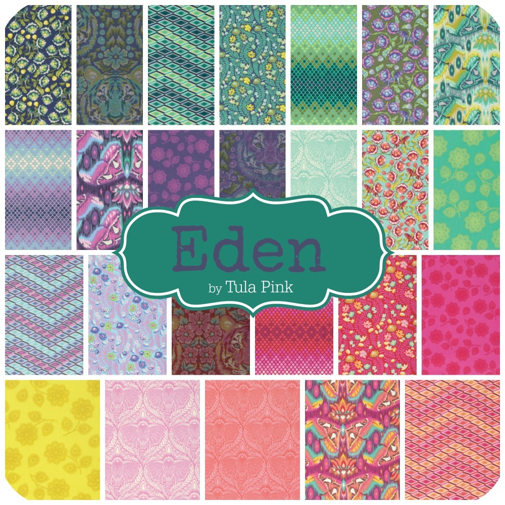Eden Fabric by Tula Pink
