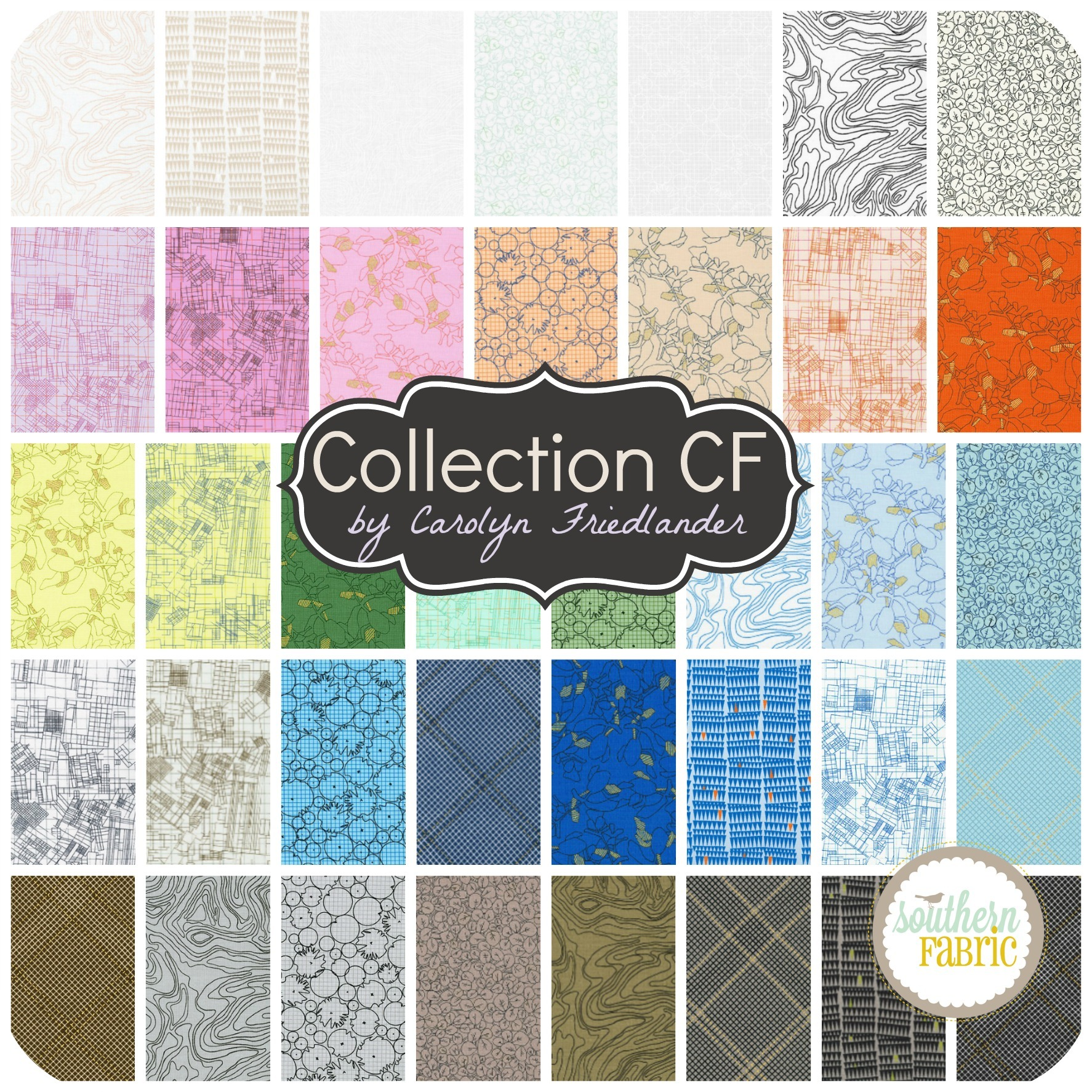Collection CF by Carolyn Friedlander