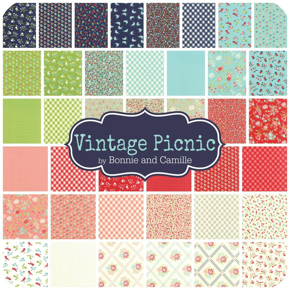 Vintage Picnic by Bonnie and Camille