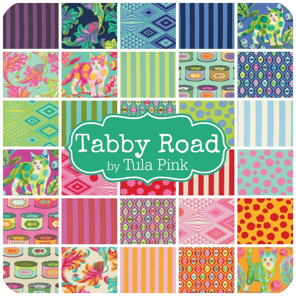 Tabby Road by Tula Pink