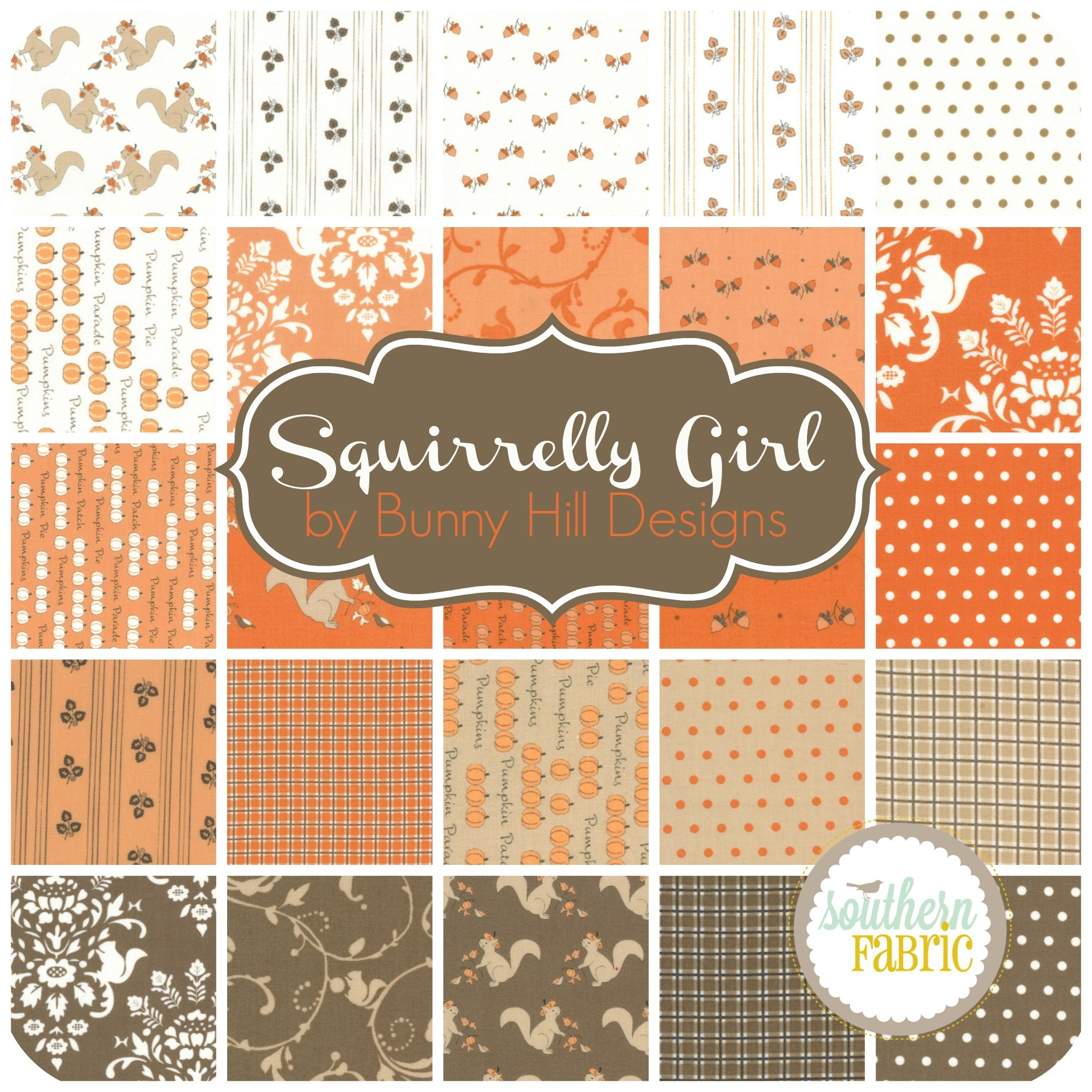 Squirrelly Girl by Bunny Hill Designs