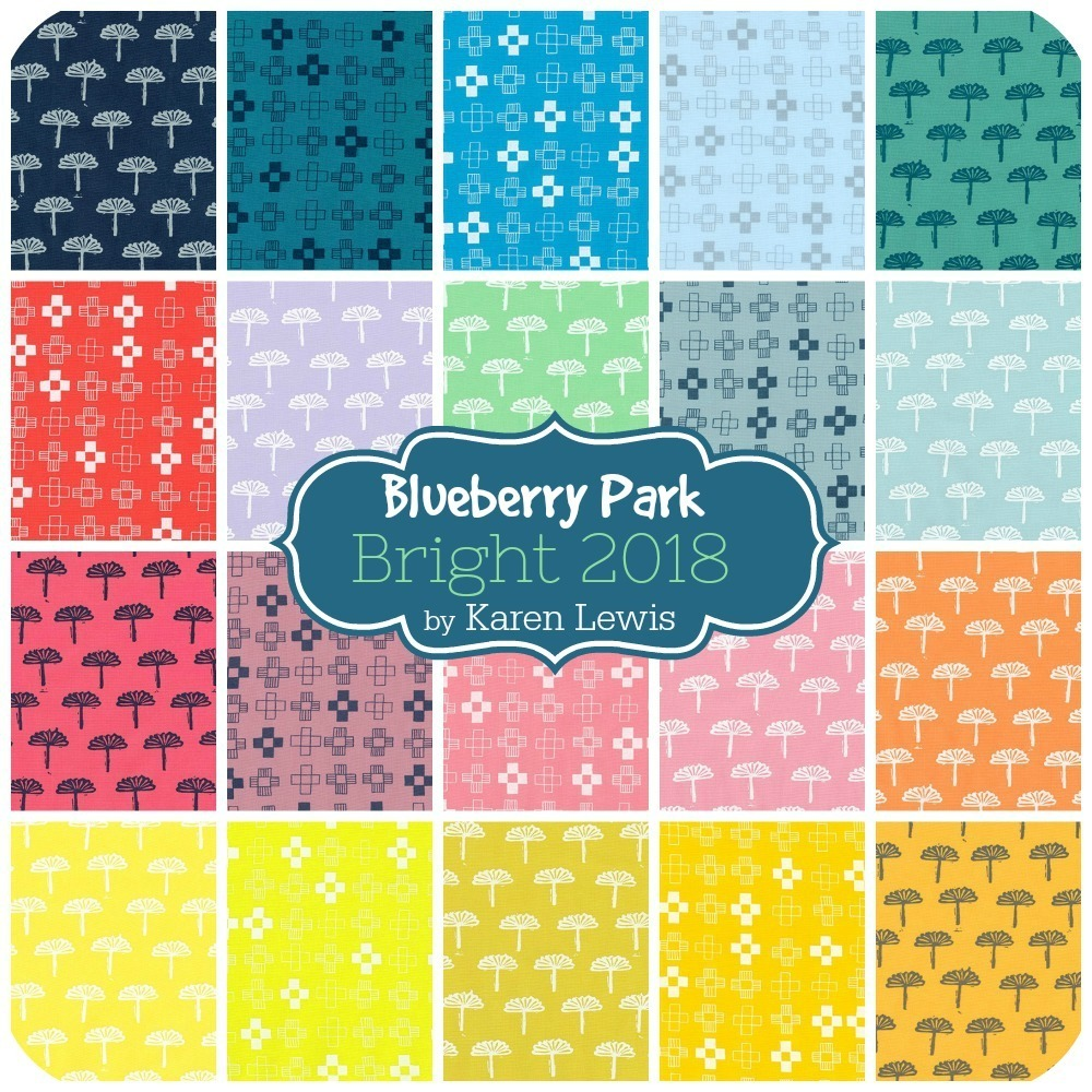 Blueberry Park Bright 2018 by Karen Lewis