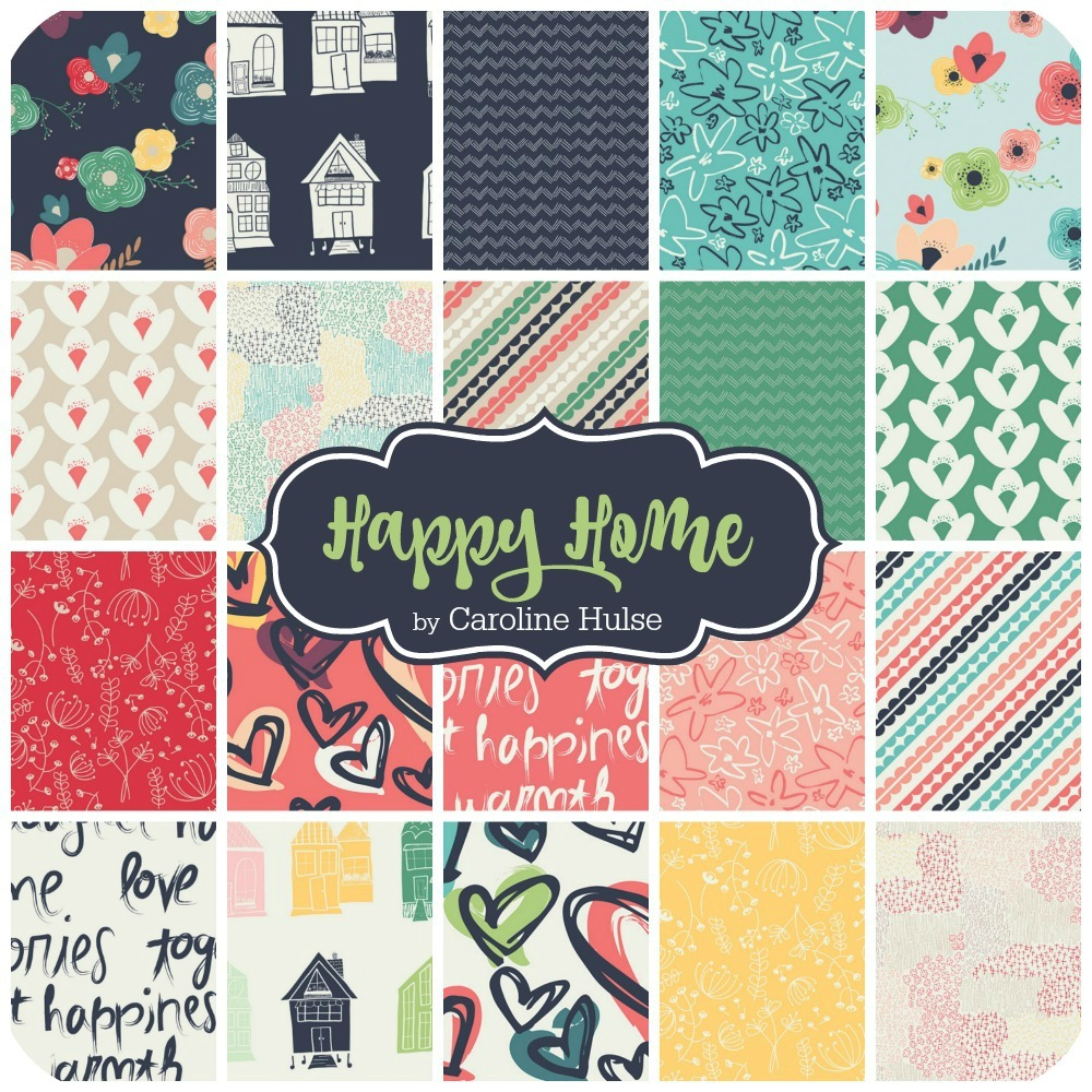Happy Home by Caroline Hulse