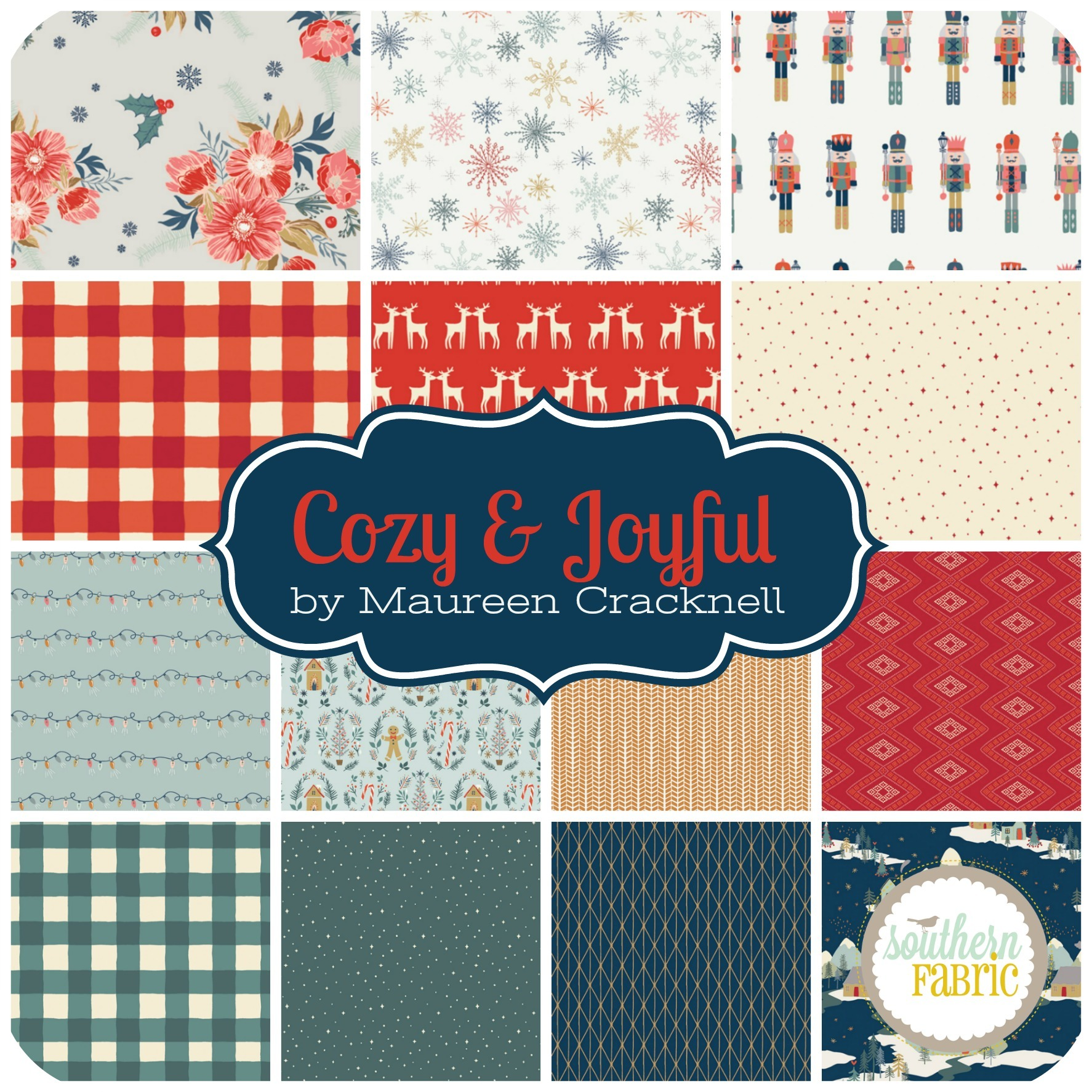 Cozy & Joyful by Maureen Cracknell