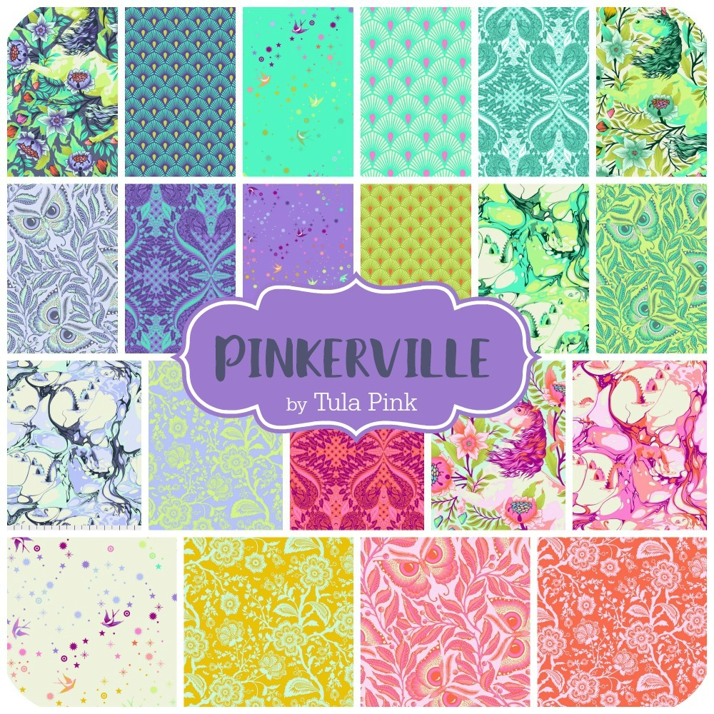 Pinkerville by Tula Pink