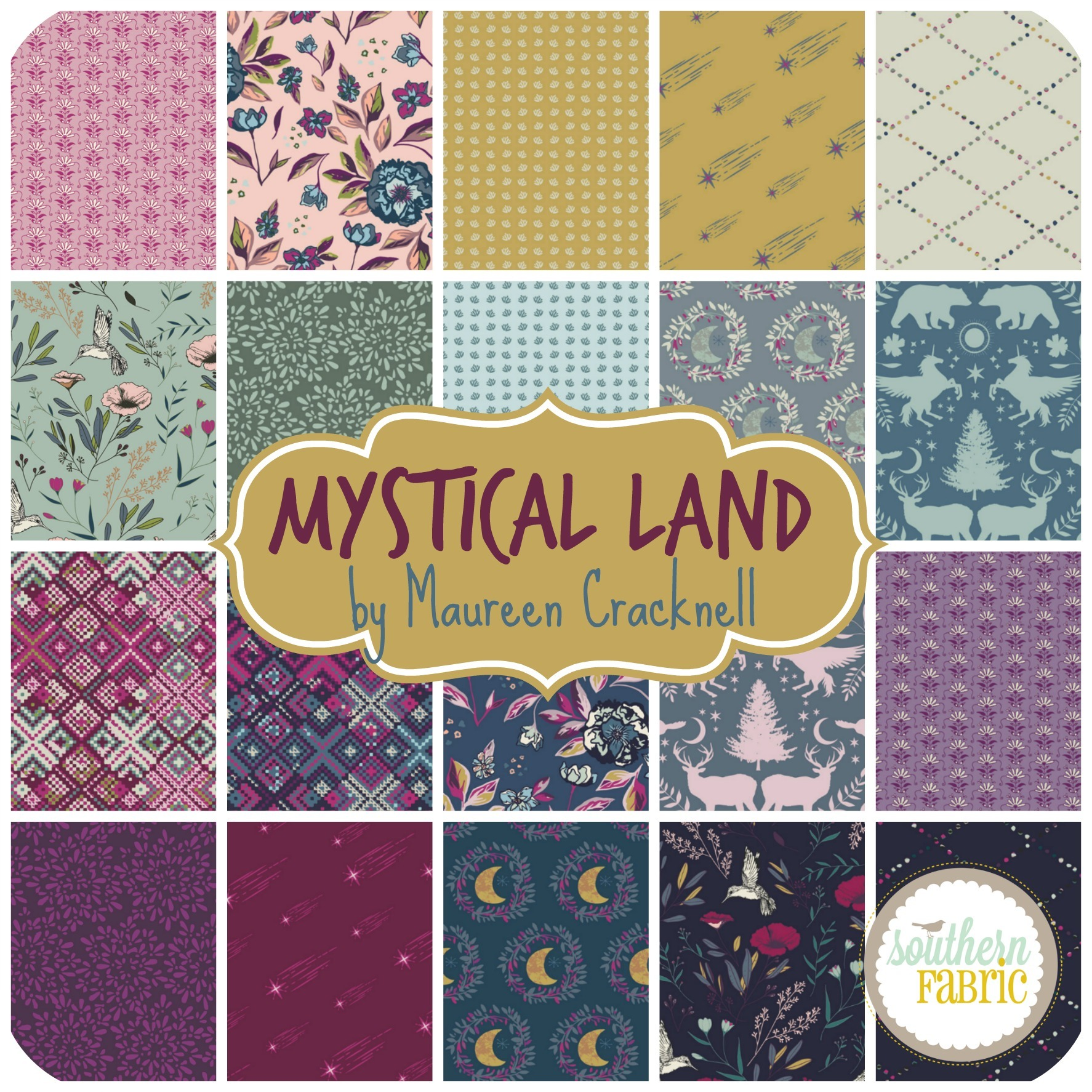 Mystical Land by Maureen Cracknell